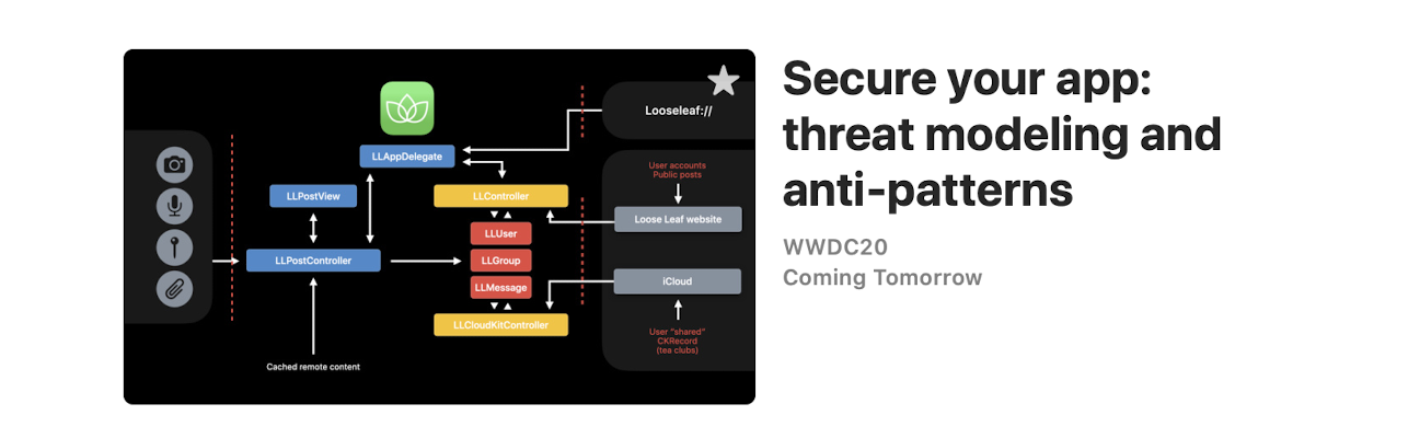 Secure your app: threat modeling and anti-patterns